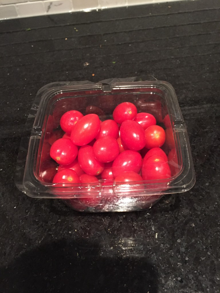 cherry tomatoes for healthy pesto