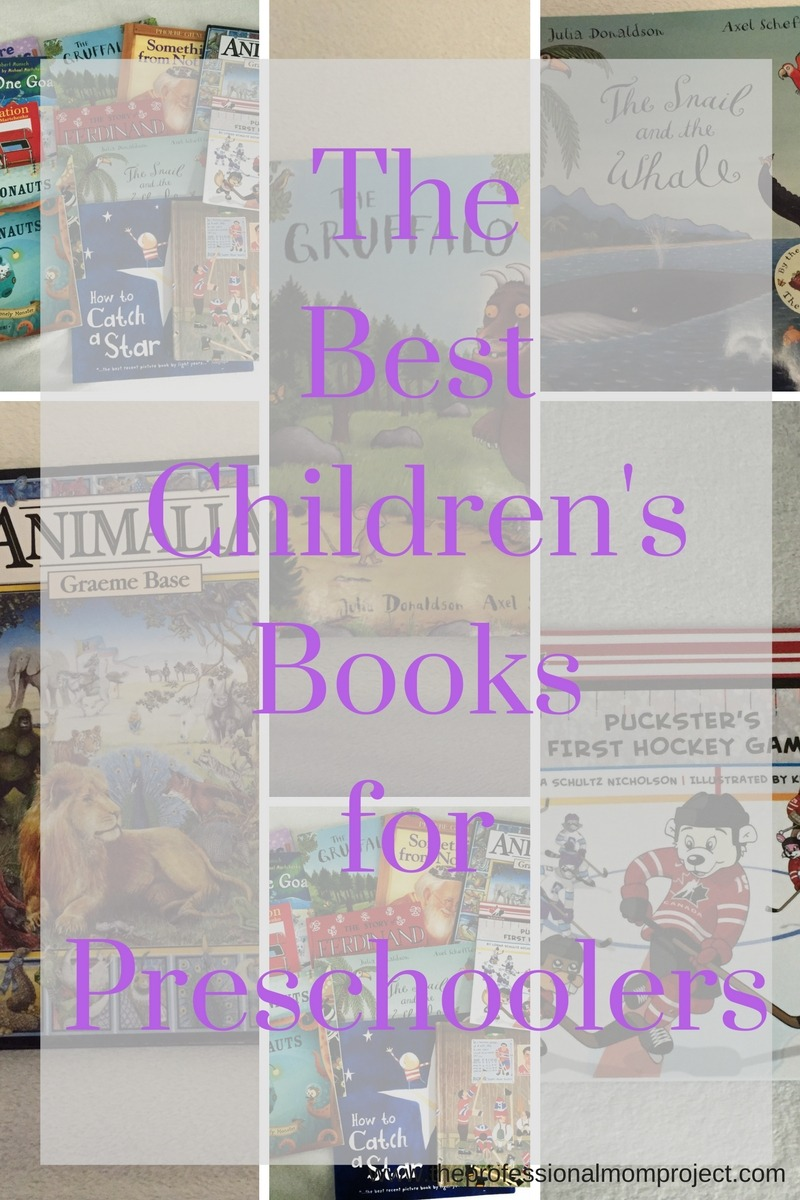The Best Children's Books for Preschoolers