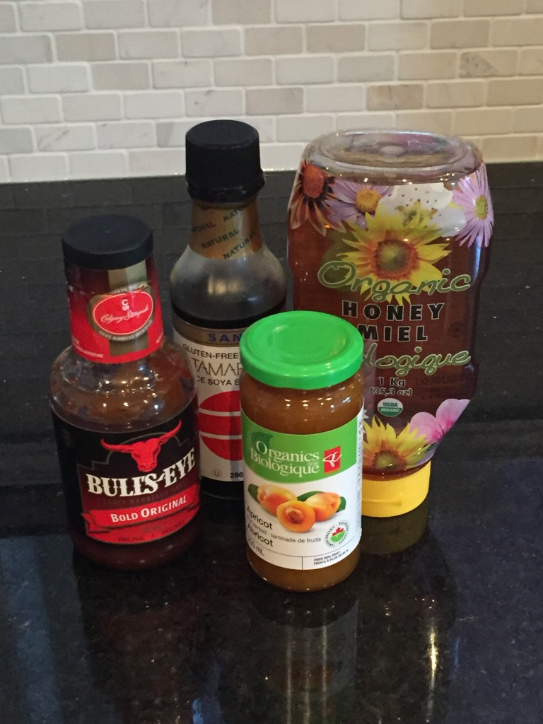 ingredients for nana's special chicken recipe