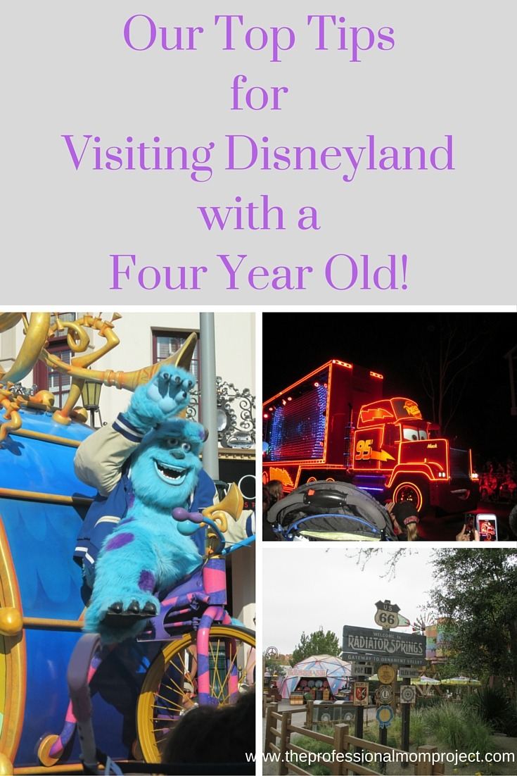 Our Top Tips for Visiting Disneyland with a Four Year Old