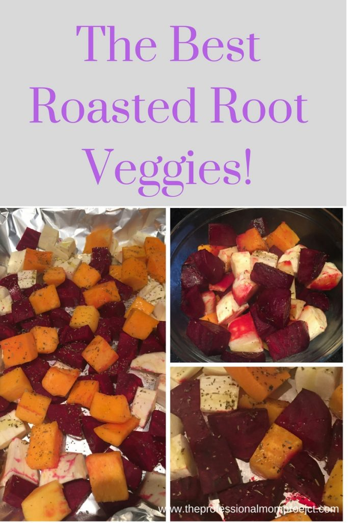 Healthy? Check! Easy? Check! Enjoy this side dish of roasted beets, squash and turnips from The Professional Mom Project