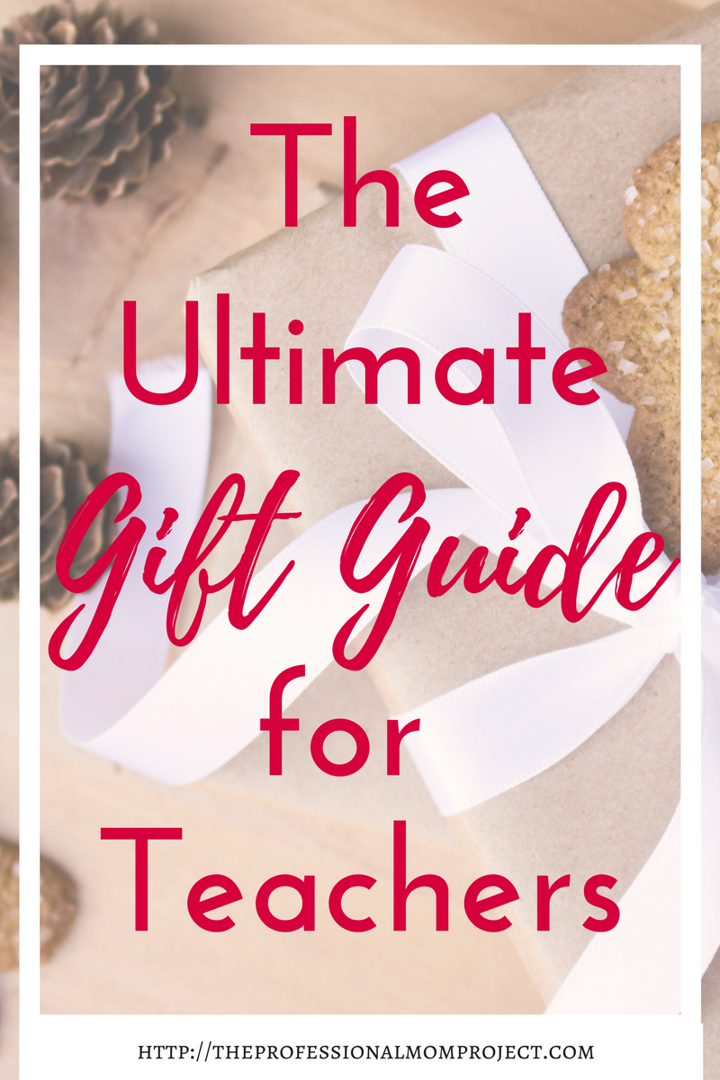 Holiday gift guide for teachers | gift ideas for teachers | teacher gifts | teacher presents | holiday gifts for teachers #giftguide #christmas #holiday