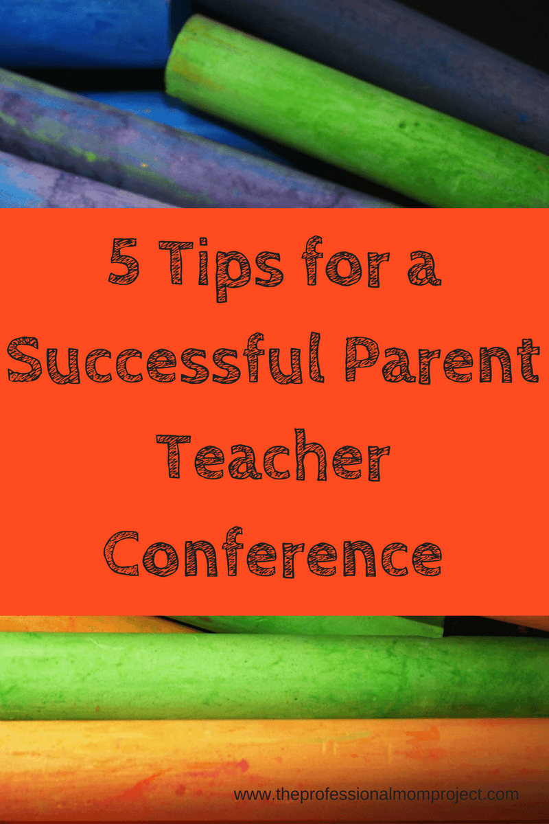 5 Tips for a Successful Parent Teacher Conference