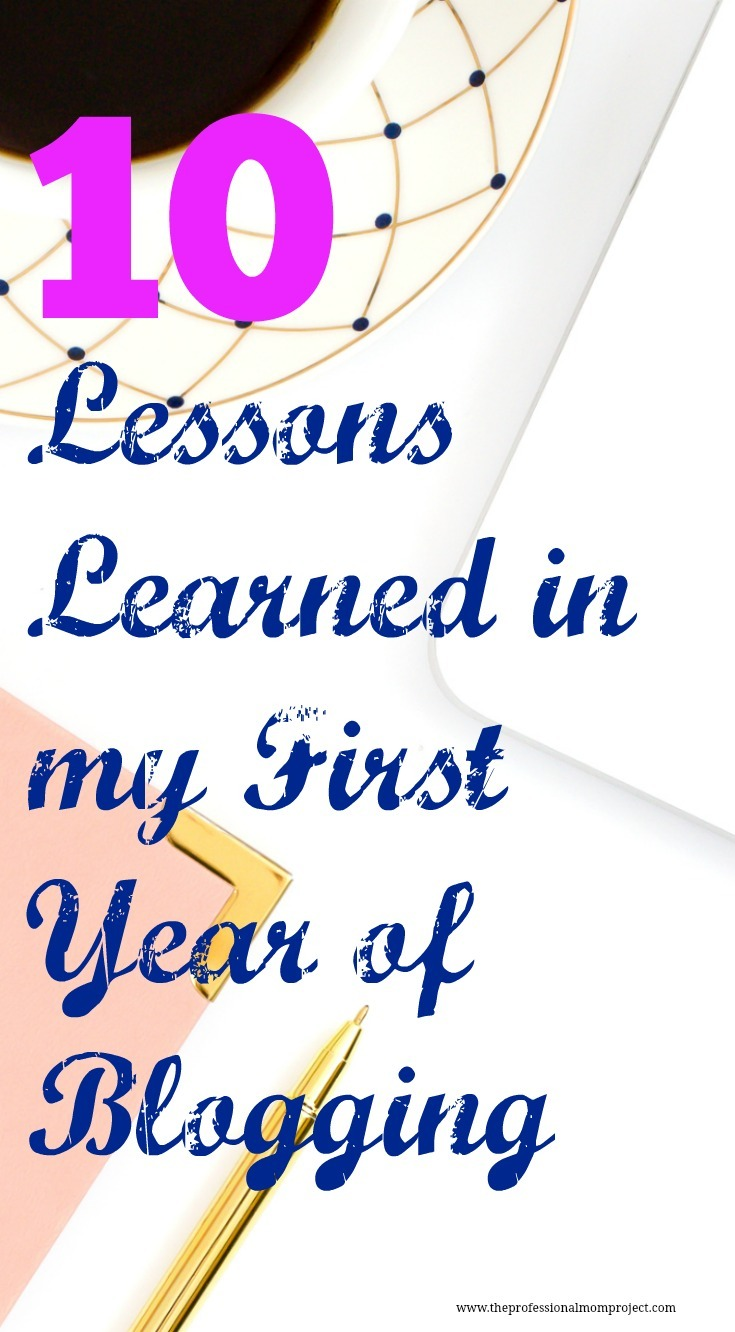 My First Year of Blogging – What I've Learned so Far