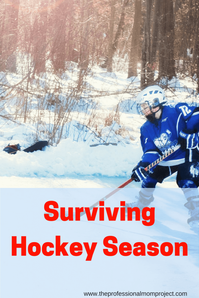 Check out this post for tips for parents on surviving hockey season from The Professional Mom Project