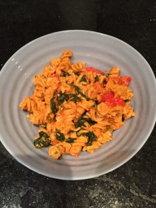 Give this healthy yummy creamy vegan healthy pasta a try