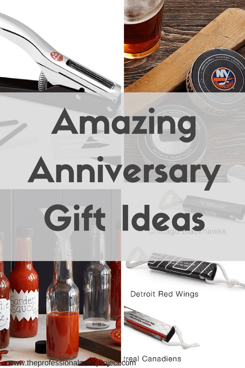 Stumped on what to buy your husband for your anniversary? Check out this list of amazing anniversary gift ideas for inspiration and ideas from The Professional Mom Project