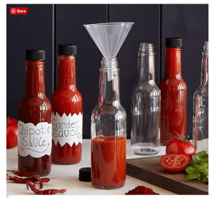 Great anniversary gift ideas including this make your own hot sauce kit!