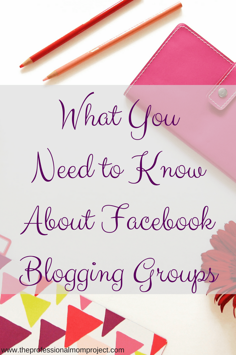 Are Facebook blogging groups worth your time? Do they help increase blog traffic? Check out this post to learn the pros and cons of Facebook blogging groups.
