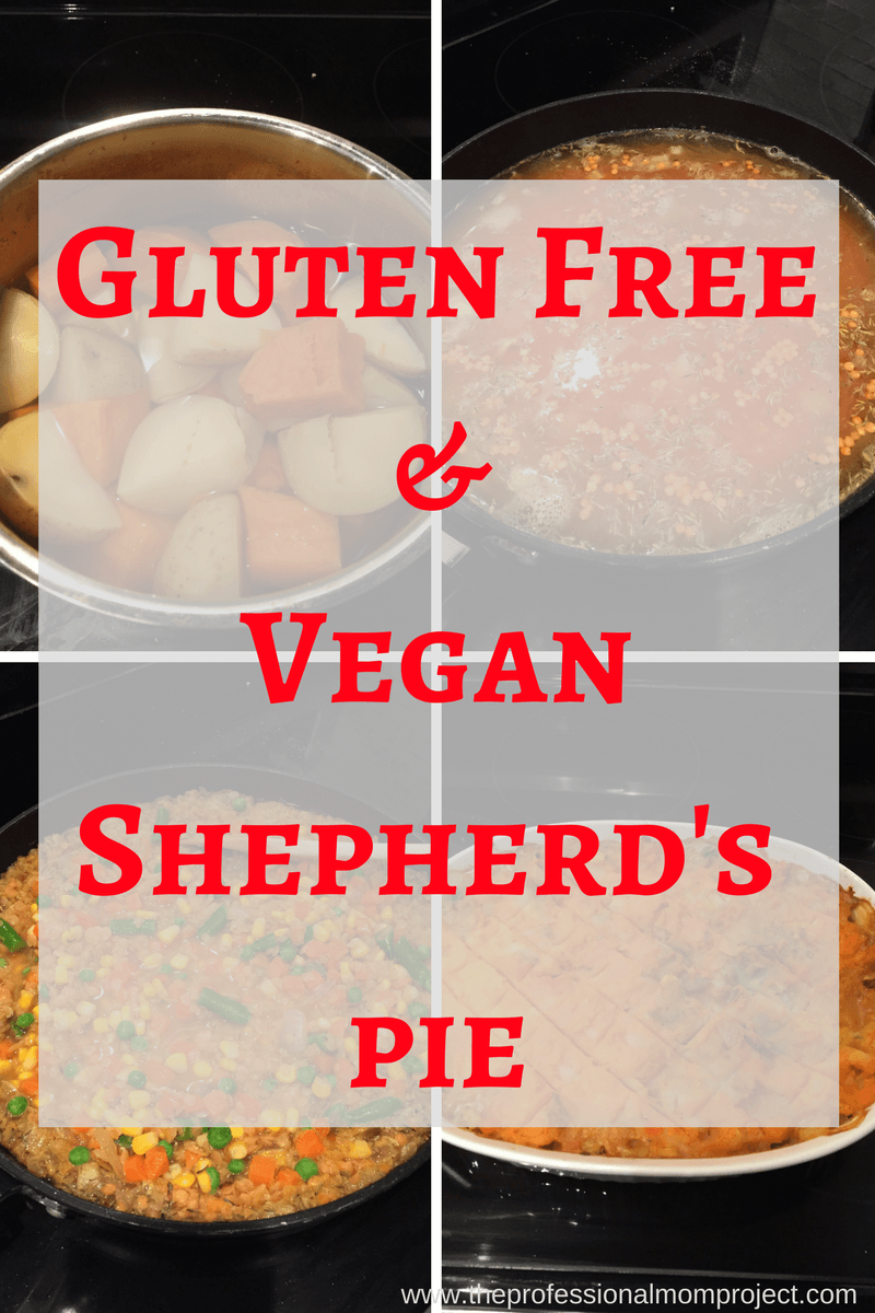 Healthy, satisfying and vegan! Try this gluten free and vegan shepherd's pie for dinner tonight