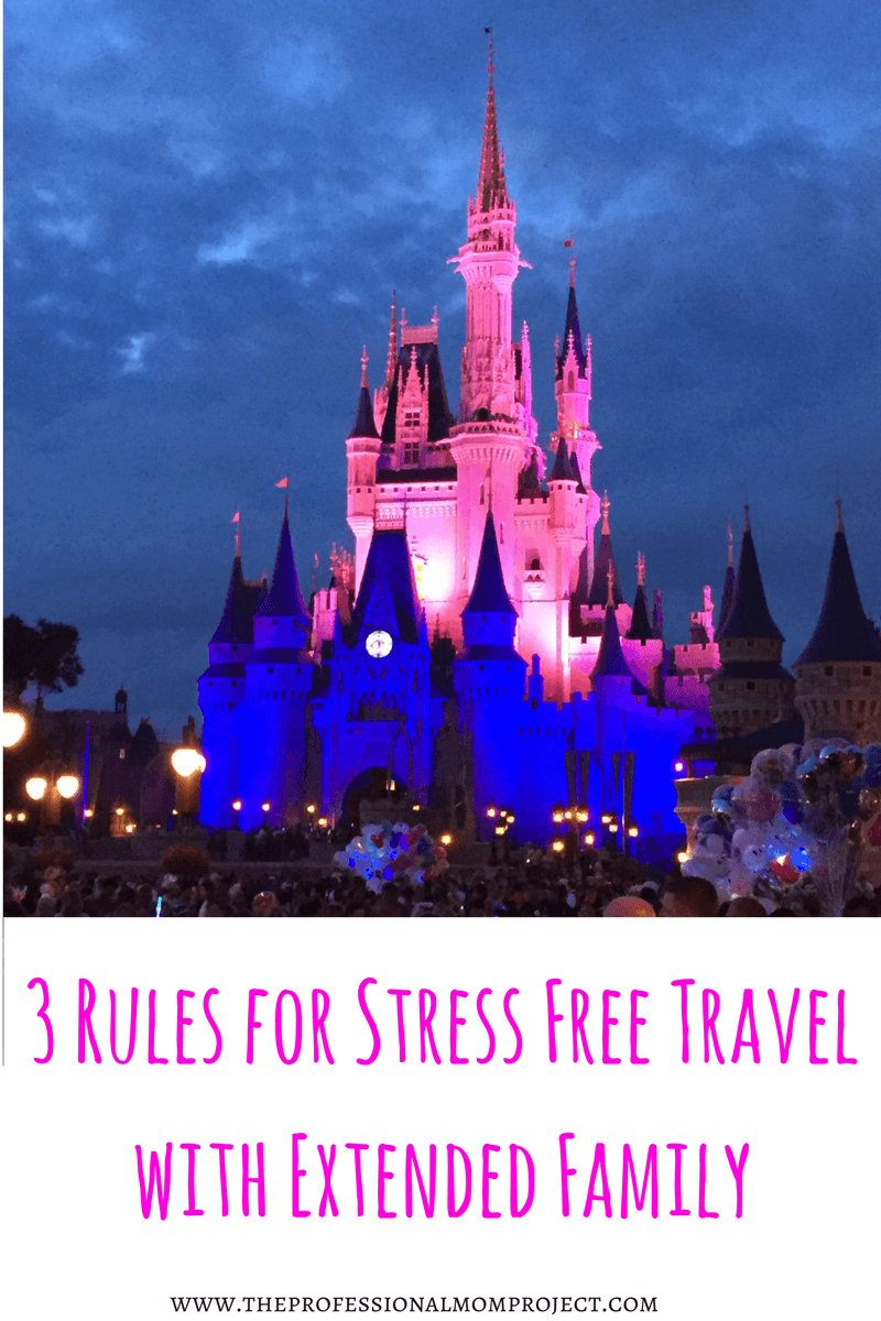 3 Rules for Stress-Free Travel with Extended Family