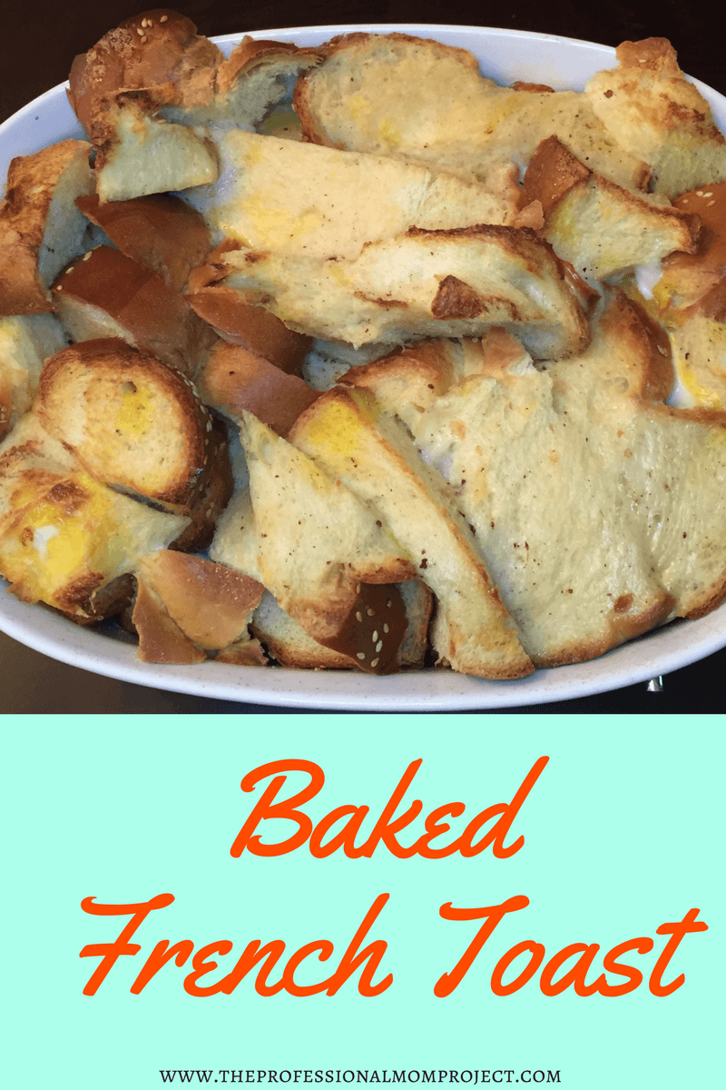 Check out this amazing overnight baked french toast recipe! Perfect for brunch: brunch recipe | french toast bake | french toast casserole | breakfast casserole | easy breakfast idea | simple breakfast recipe