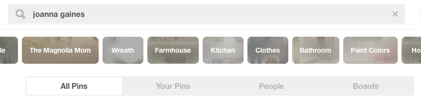 pinterest for beginners - how to search on pinterest